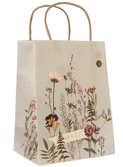 flower bed gift bag