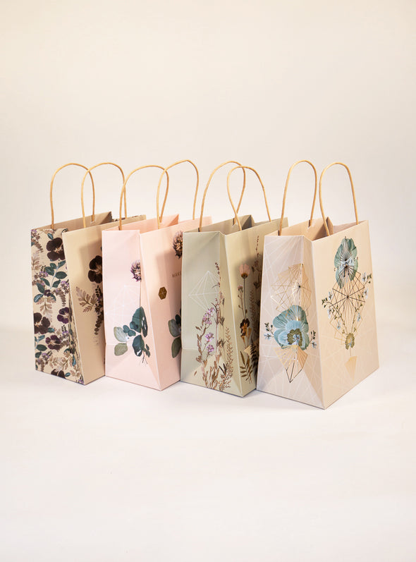 Gift Bag, Plum Leaves