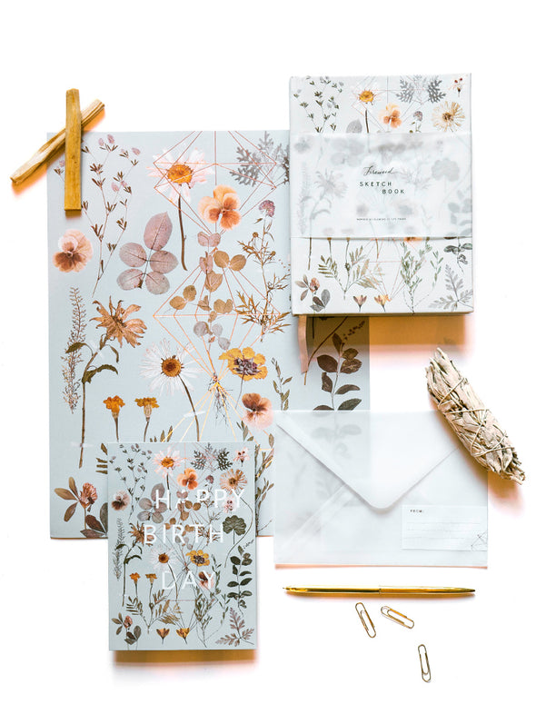 Greeting Card, Golden Garden