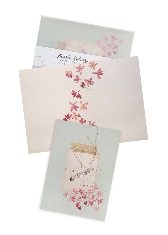 Greeting Card, Sage