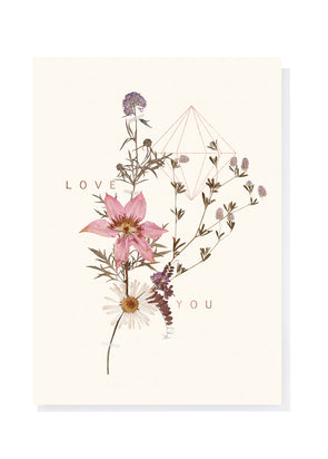 Sweet Stems Greeting Card