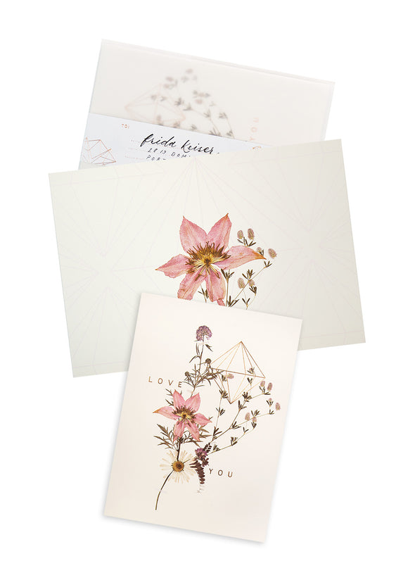 Sweet Stems Greeting Card with envelope
