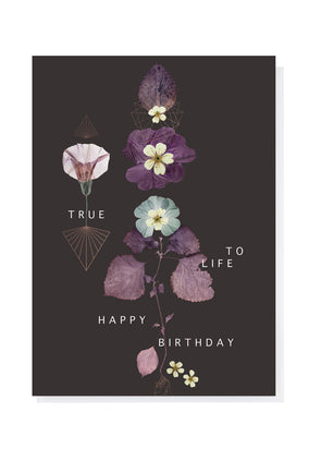 True To Life Greeting Card