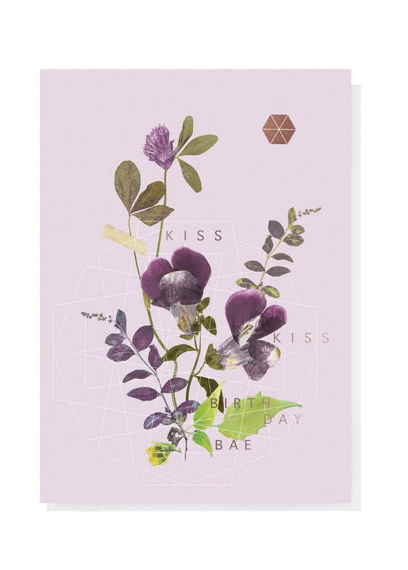 Kiss Kiss Greeting Card