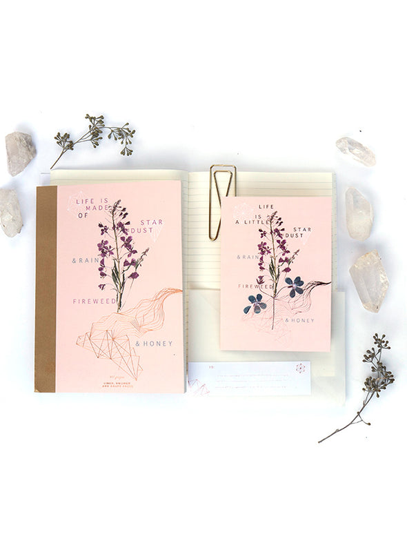 Greeting Card, Fireweed & Honey