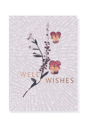 Greeting Card, Well Wishes Script