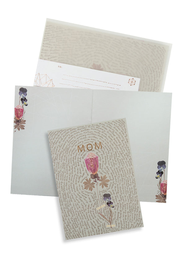 Greeting Card, Mother Script