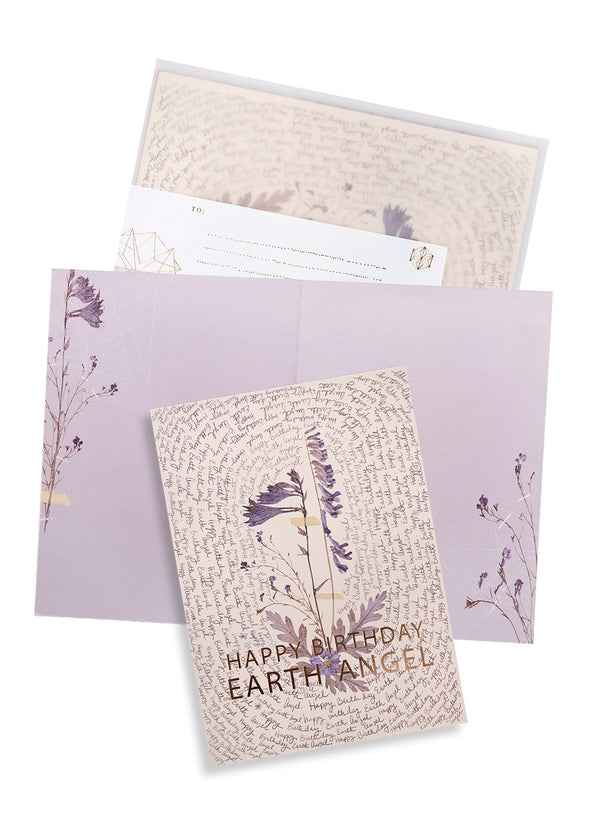 Earth Angel Greeting Card with envelope