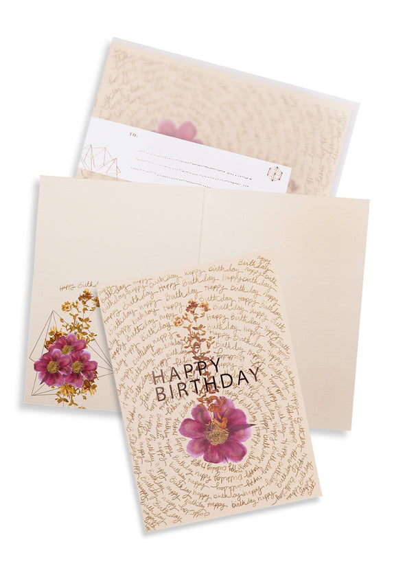Greeting Card, Birthday Script