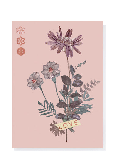 love cluster greeting cards