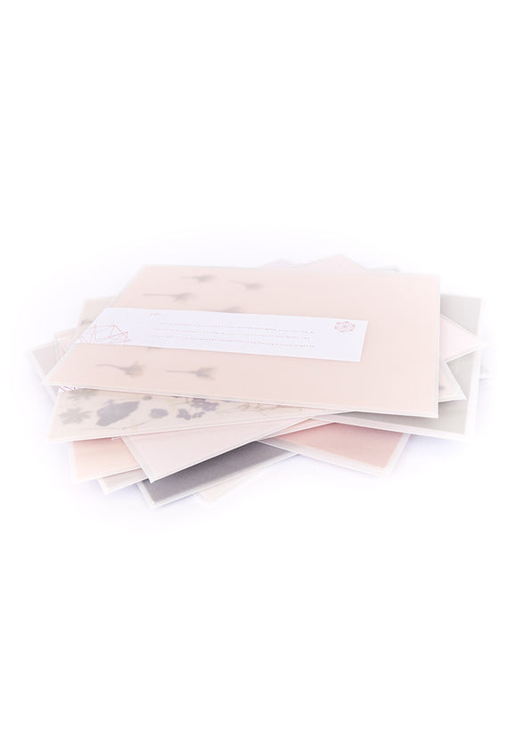 stack of greeting cards in envelopes