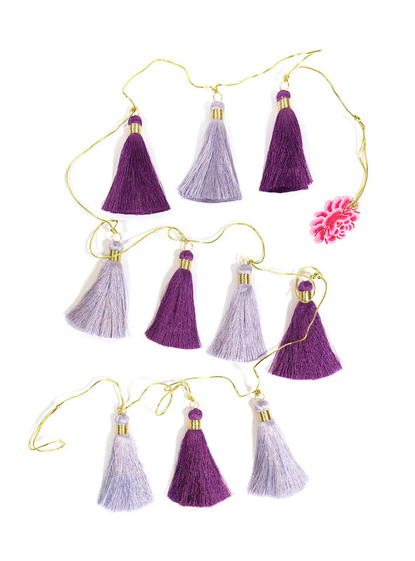 Tassel Garland, Moroccan Magic (Horizontally Hanging)