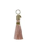 ballet slipper tassel key chain front