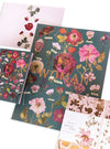womens garden art and stationery