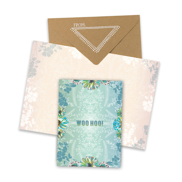 whoo returns congratulations greeting card collage