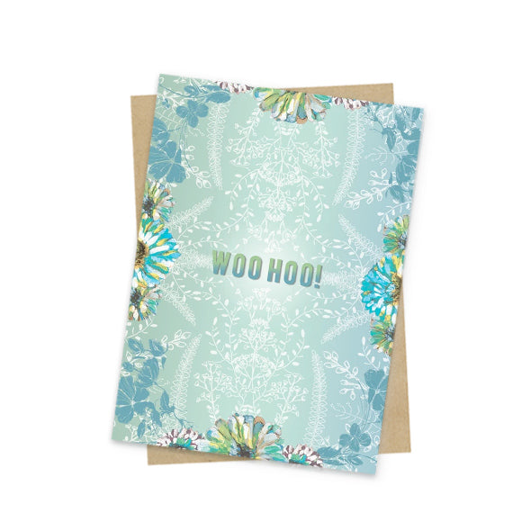 whoo returns congratulations greeting card front