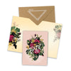 floral fiesta mini greeting card collage