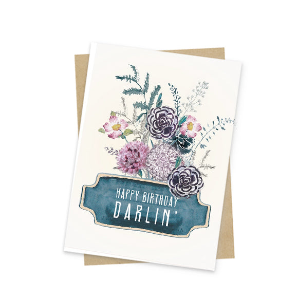 Mini Card, HB Darlin'