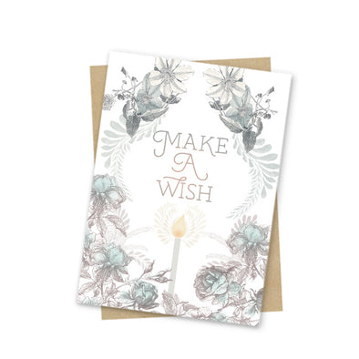 Mini Card, Wish Birthday