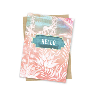 Mini Card, Jungle Hello