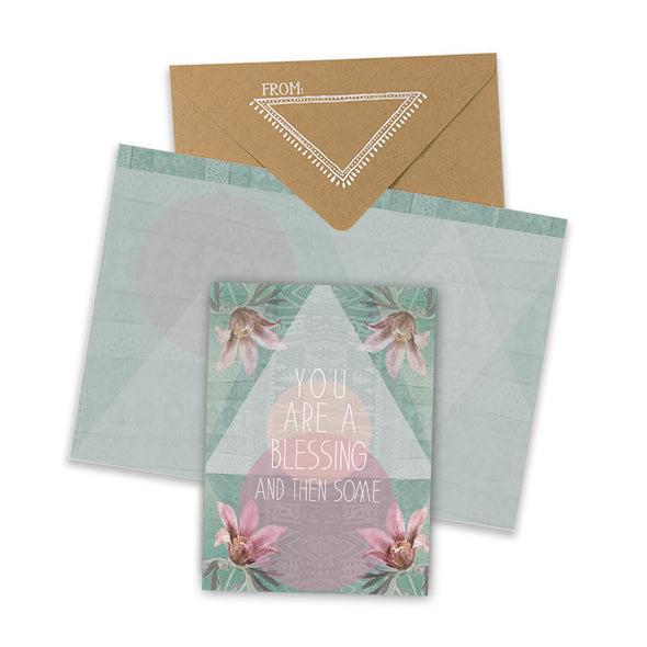 You Are A Blessing Mini Card with envelope