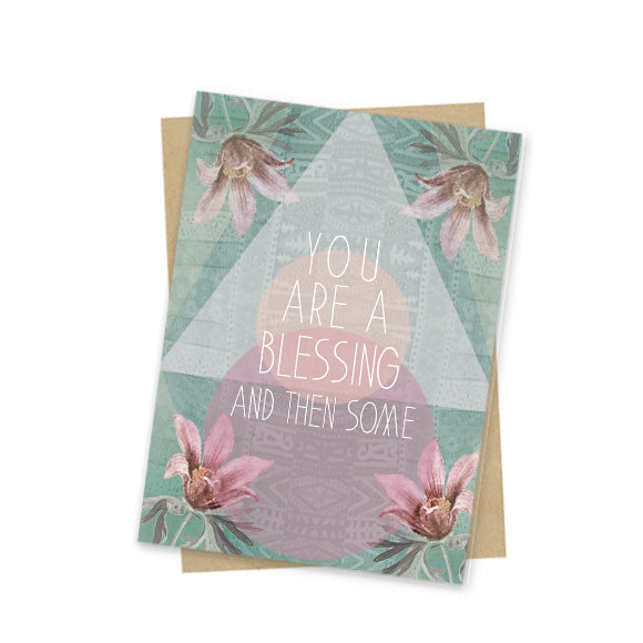 You Are A Blessing Mini Card