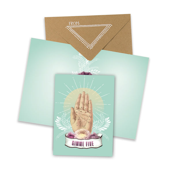 Gimme Five Mini Card with envelope