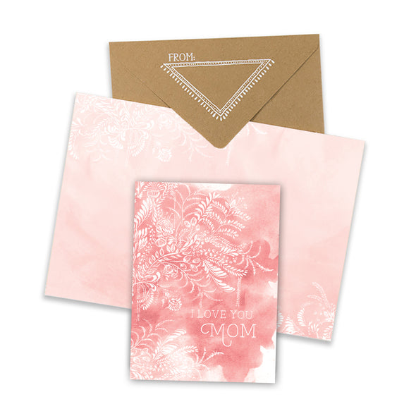 Mini Card, Mom Blush
