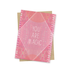 You Are Magic Mini Card