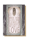presence of love greeting card front
