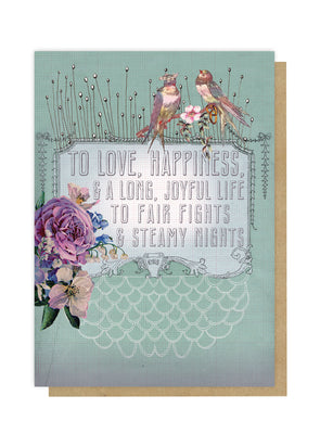 wedding wish greeting card front