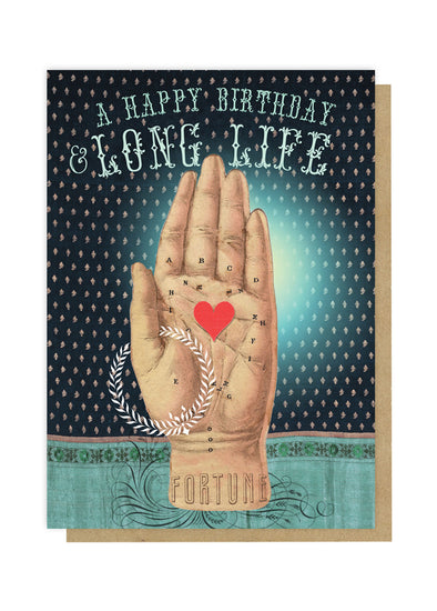 long life greeting card front