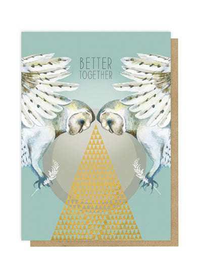 better together greeting card front