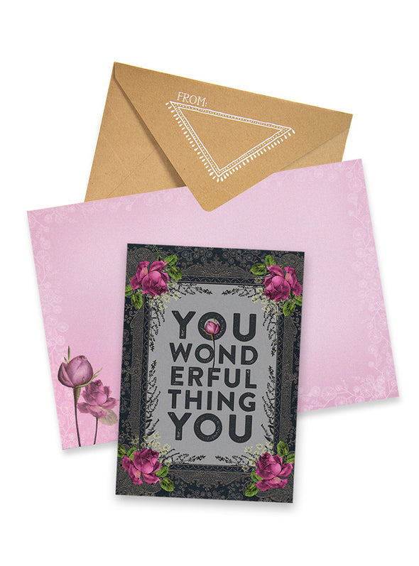 Greeting Card, Wonderful Thing