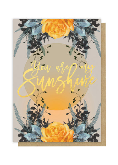 sunshine greeting card front