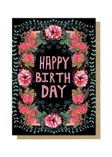 wild at heart birthday greeting card front