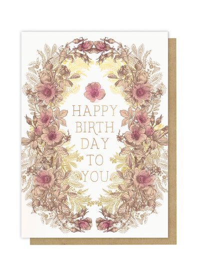 all for love happy birthday greeting card