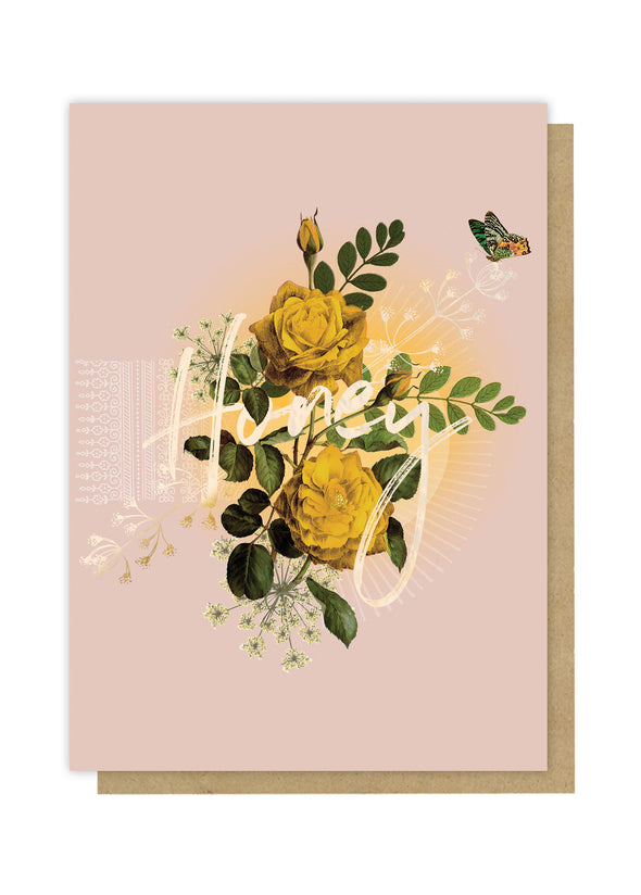 honey greeting card front