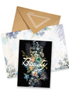 beauty bouquet greeting card collage