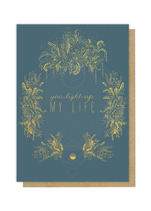 light up my life greeting card