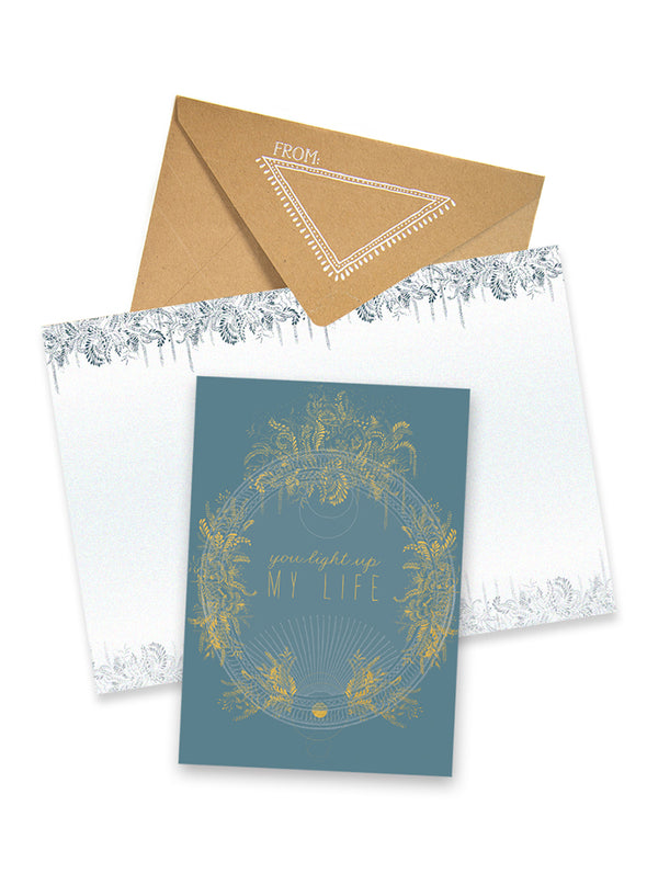 Greeting Card, Light Up My Life