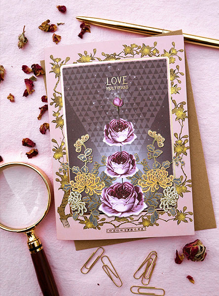Greeting Card, Love Multiplies
