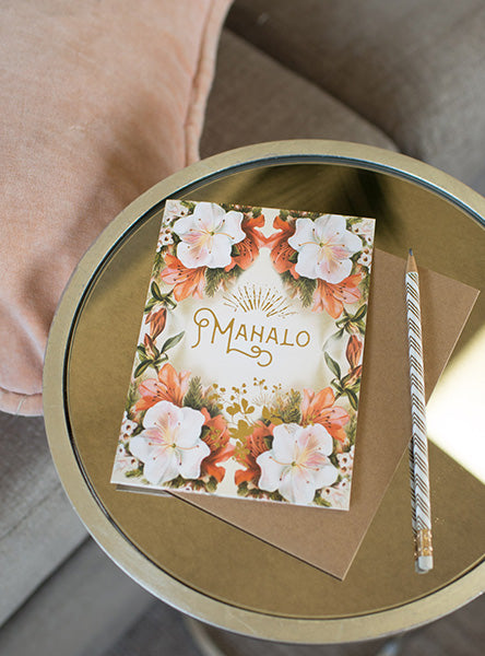 mahalo greeting card lifestyle