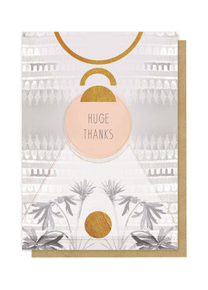 Huge Thanks Greeting Card