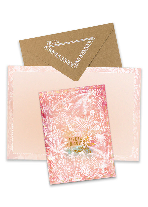 Jungle Magic Greeting Card with envelope