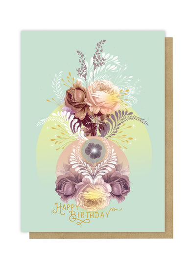Solar Blooms Greeting Card