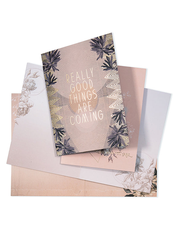 good things stationery set