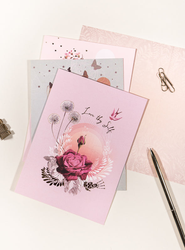 Greeting Card, Lavender Rose
