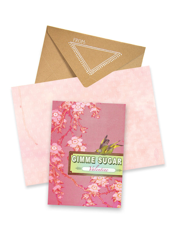 Greeting Card, Gimmie Sugar