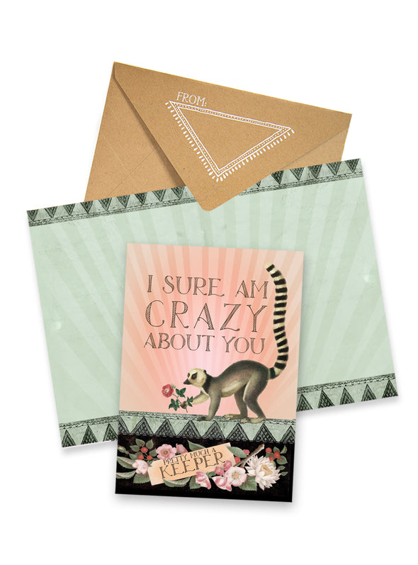Greeting Card, Meerkat Keeper